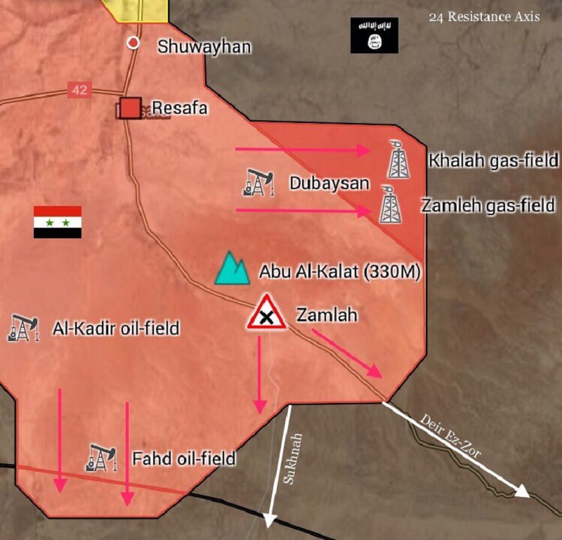 ISIS Retreating From More Areas In Southern Raqqah Countryside