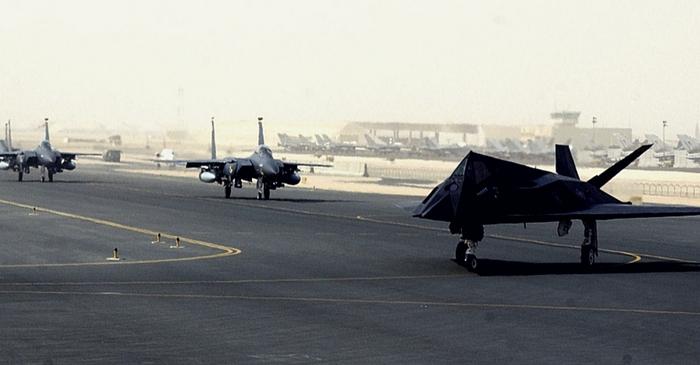 Trump Hints at Abandoning Key Qatar Military Base in Talks With Saudi King