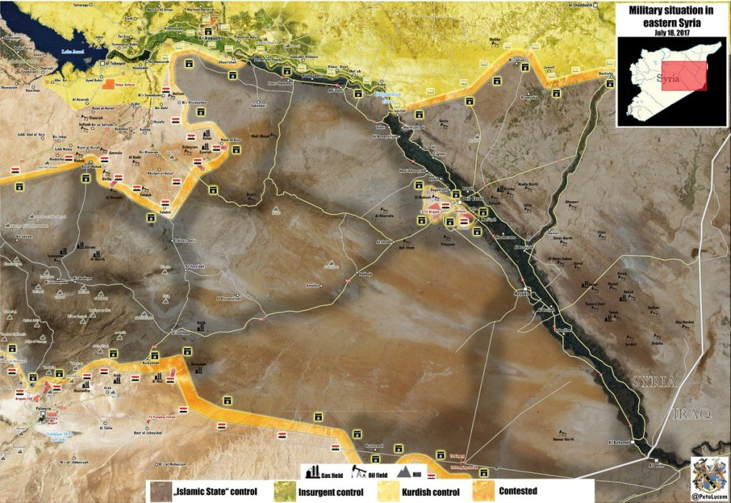 Syrian Army Advances On Strategic ISIS-held Town Of Sukhna, Gets Control Over Hills Near It (Map)