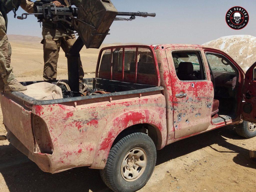 ISIS Hunters Crush Terrorists Near Palmyra As Army Further Advances In Mountain Area Near Sukhna
