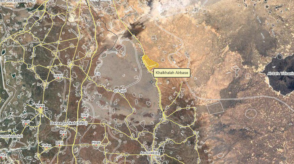 Syrian Air Force Strikes Targets Near Jaber Border Crossing At Syrian-Jordanian Border