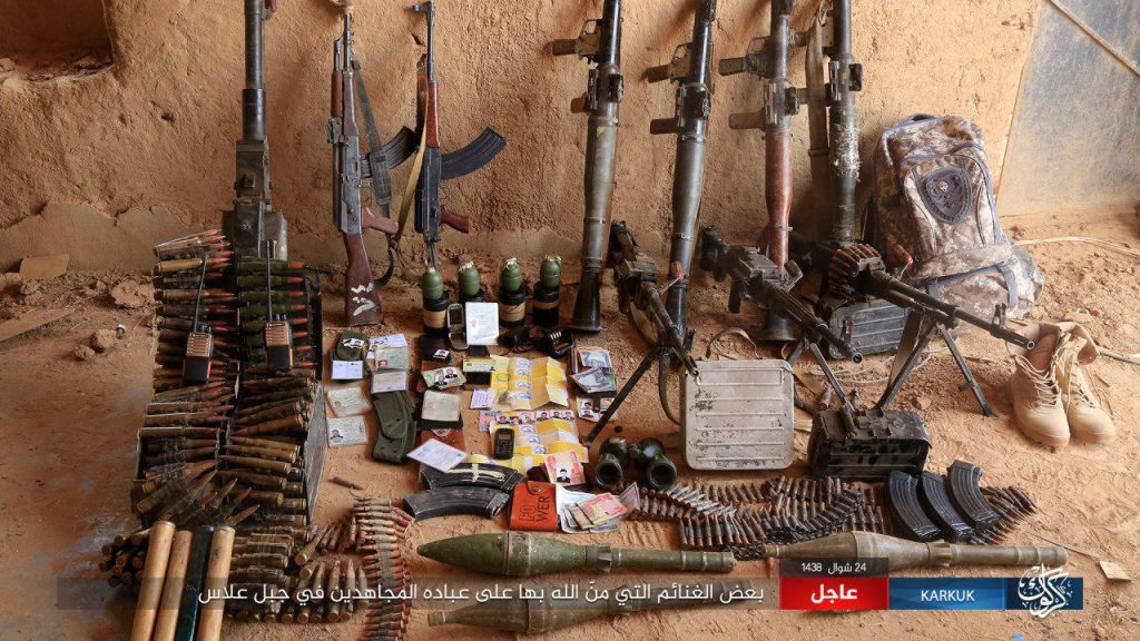 ISIS Attacks Allas And Ajil Oil Fields In Iraq
