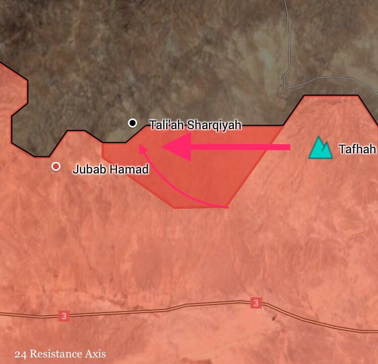 Government Forces Deploy In Striking Distance From ISIS-held Town Of Sukhna (Map Update)