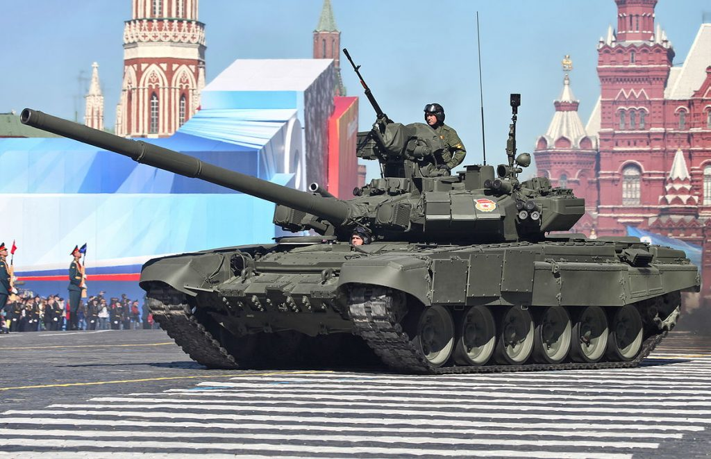 Russia To Deliver Large Batch Of T-90 Battle Tank To Iraqi Military In 2017