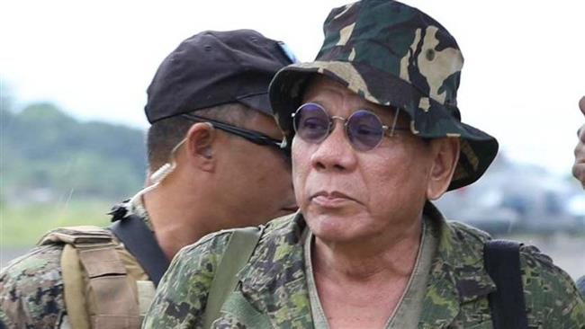 Philippine President Visits Marawi As Fighting With ISIS Contines In City