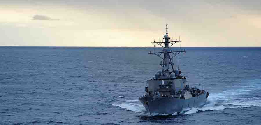 China Sends Warships, Fighter Jets To Intercept US Destroyer In South China Sea
