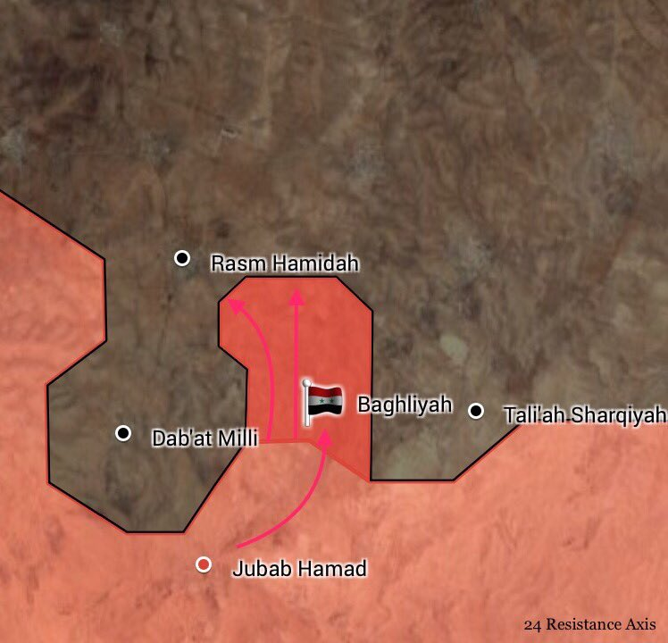 Syrian Army Makes Progress In Eastern Homs Countryside, Liberates Village And Nearby Hills En Route To Uqayribat