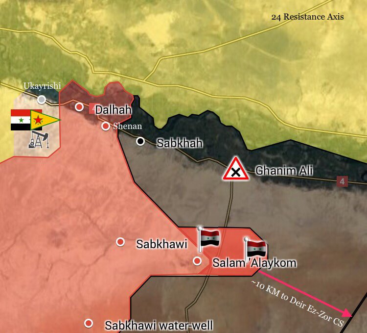 Tiger Forces 10km Away From Entering Deir Ezzor Province From Southern Raqqah Countryside