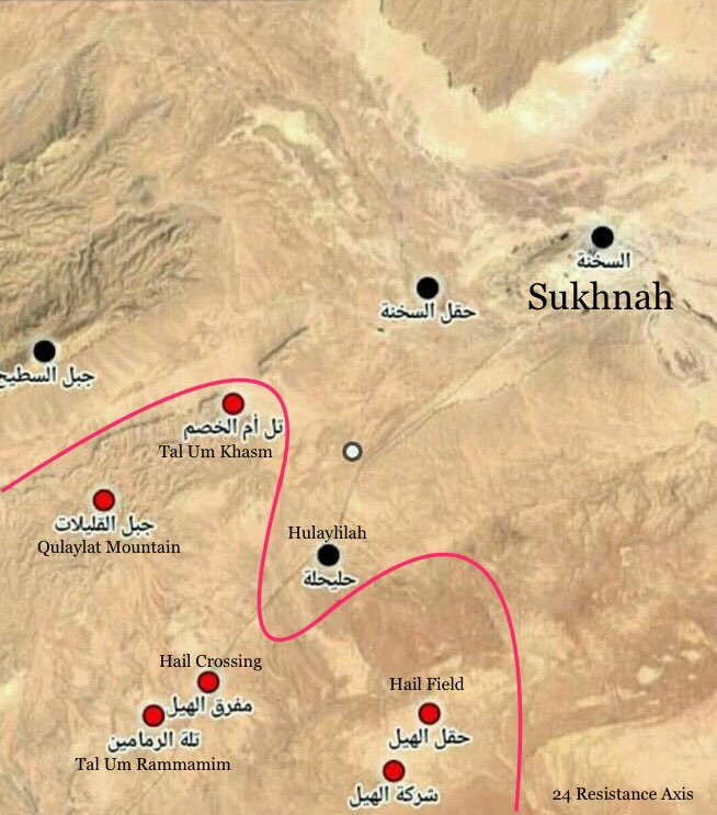 Government Forces Captured Important Mountain In Palmyra Countryside (Map)