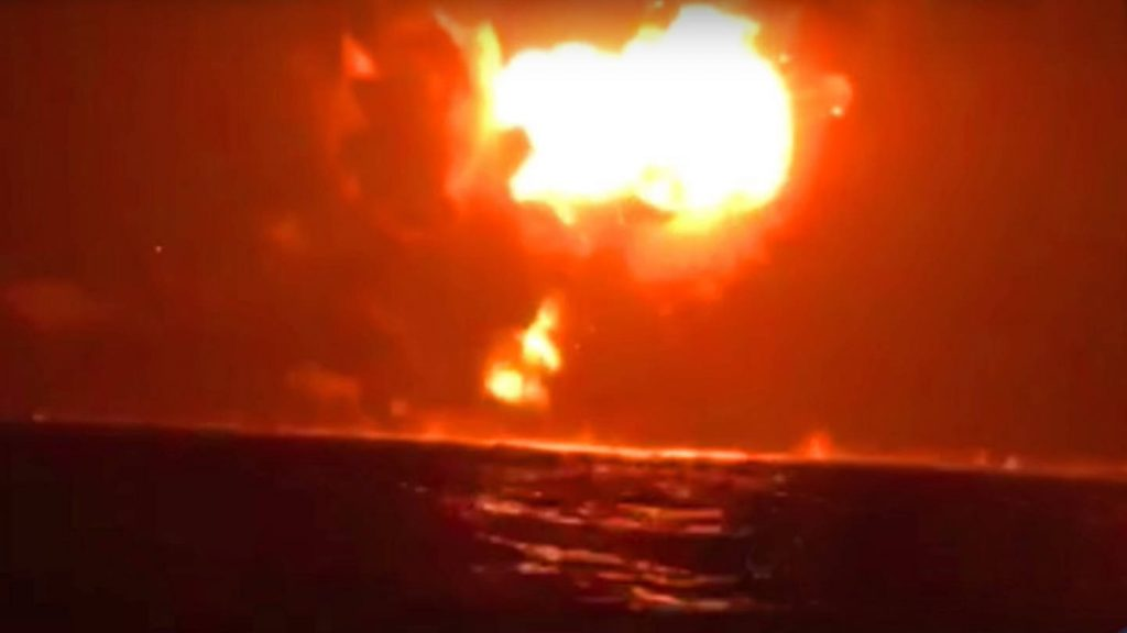 Houthi Forces Targets UAE Warship With Alleged Iranian Missile