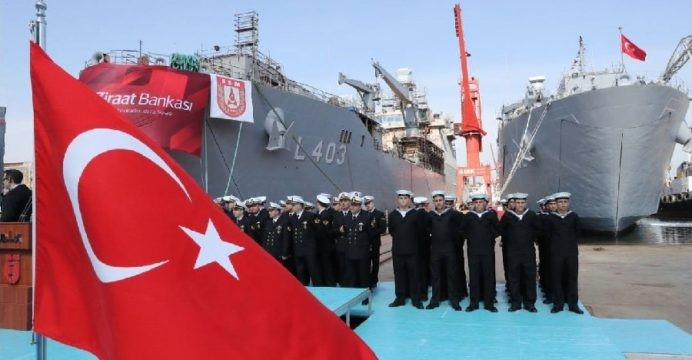Turkish Navy Amphibious Fleet Modernization: TCG Bayraktar L-402 Enters Service