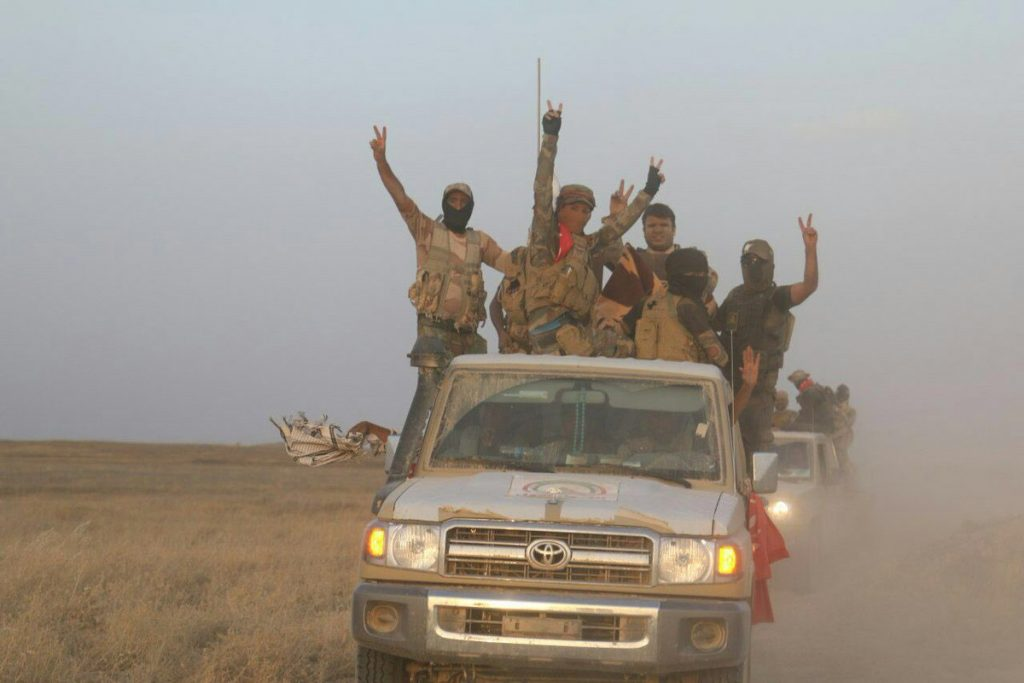 Popular Mobilization Units Repel ISIS Attack In Border Area With Siyra, Destroy High Number Of ISIS Vehicles (Photos)