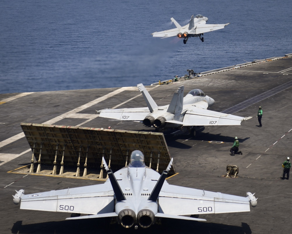 US Nimitz Carrier Strike Group Begins Launching Airstrikes On ISIS Targets In Syria, Iraq