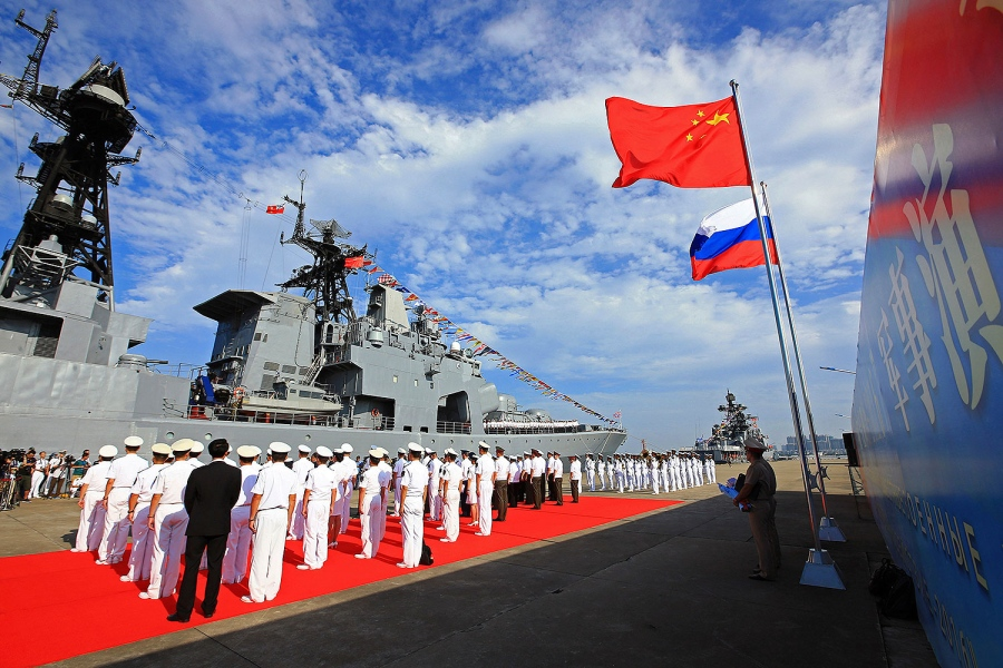 People's Liberation Army Navy In the Baltic