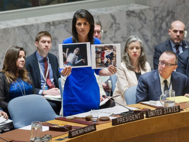 Nikki Haley: Warmonger Extraordinaire!