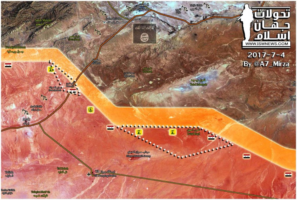 Government Forces Liberate Tulul Hayl, Achieve Progress Near Ramamin In Homs Province