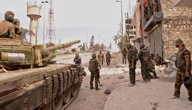 Government Forces Advancing Against ISIS In Mountainous Region Northeast Of Palmyra
