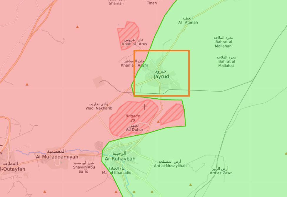 Government Forces And Militants Bargain For Jayrud Town In Eastern Qalamoun