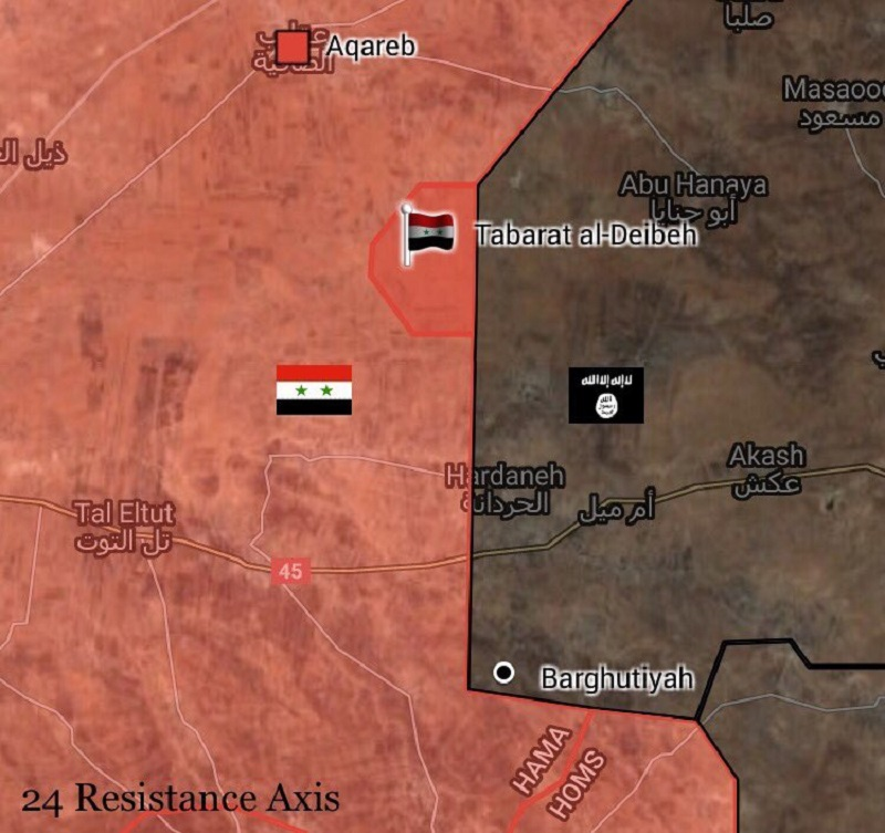 Desert Hawks, Liwa al-Quds Recapture Imporatnt Hill From ISIS In Eastern Hama