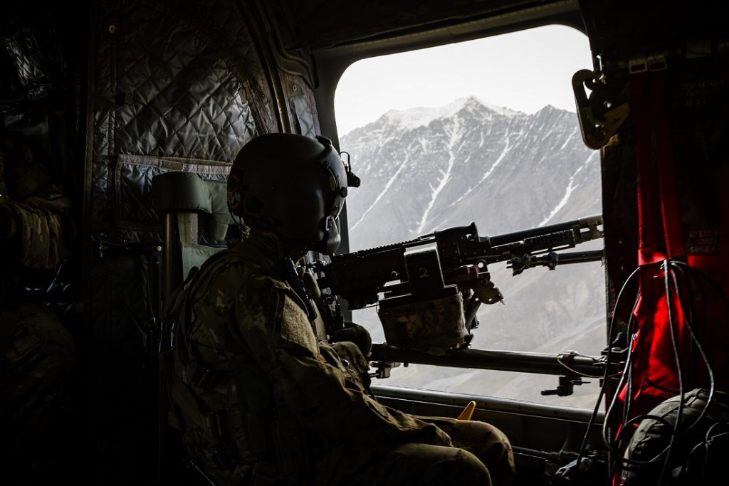 Taliban Claims Its Fighter Shoot Down Helicopter In Kandahar