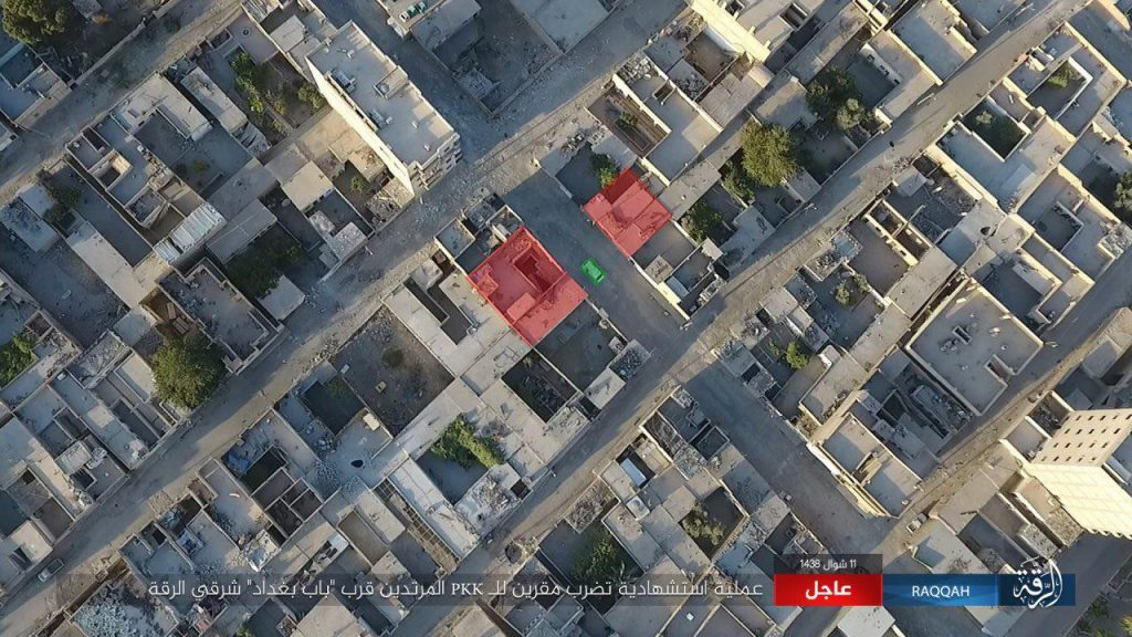 ISIS Recaptures Hisham Ibn Abd al-Malik District In Raqqa (Photos, Video)