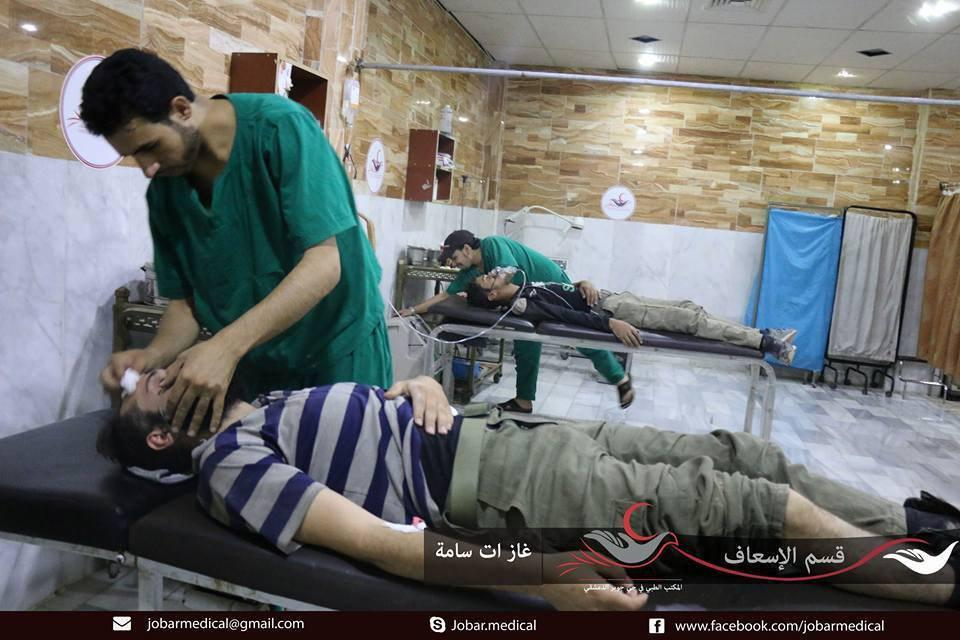 Militants Once Again Accuse Syrian Army Of Using Chemical Weapons In Jobar
