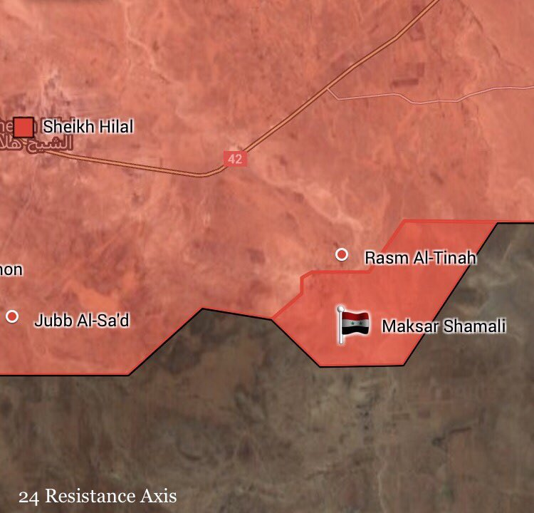 Govt Forces Continue Advancing In Eastern Hama, Retake More Area From ISIS