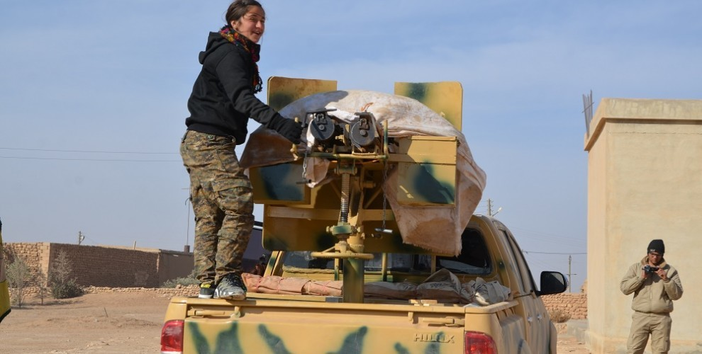 Syrian Democratic Forces Advance in Raqqa City and Its Countryside
