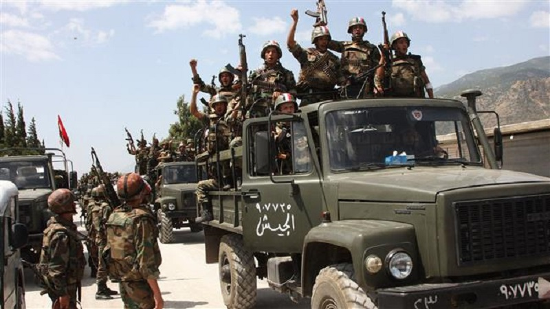 Syrian Army Liberates Jibab Hamad Village Northwest Of Tiyas Airbase In Homs Province