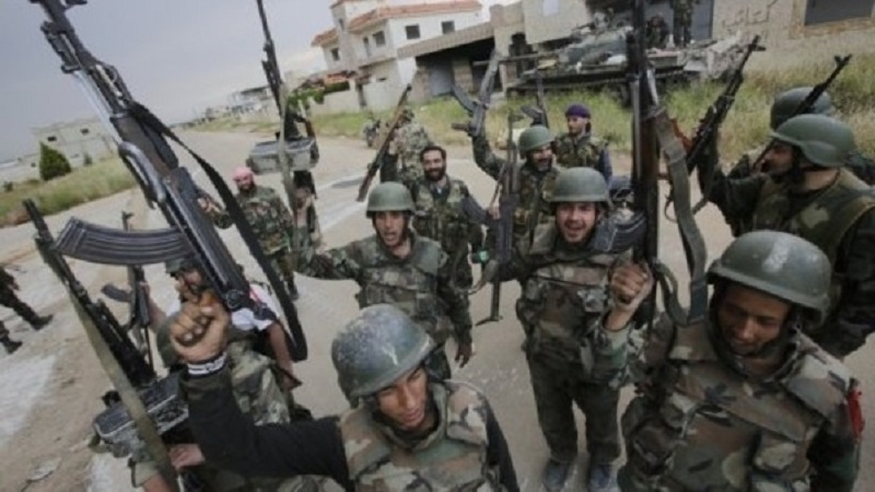Government Forces Capture Marble Factory In Ayn Tarma Amid Militant Infighting In Eastern Damascus