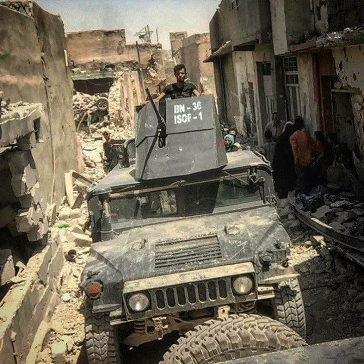 Iraqi Army Is 50 Meters Away from Right Bank Of Tigris River (Photo, Video)