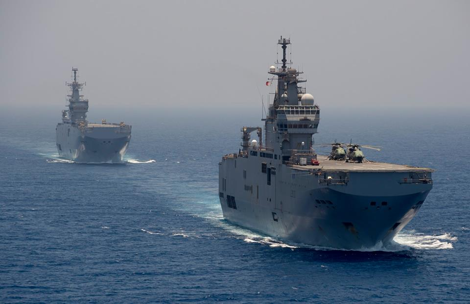Egypt Uses Land-Based Avenger Air Defense Systems For Its Mistral Helicopter Carriers