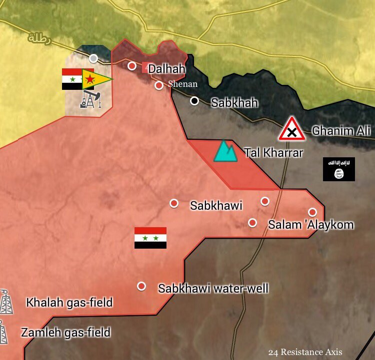 Government Forces Recapture Tal Kharrar From ISIS Terrorists In Raqqah Province (Map Update)