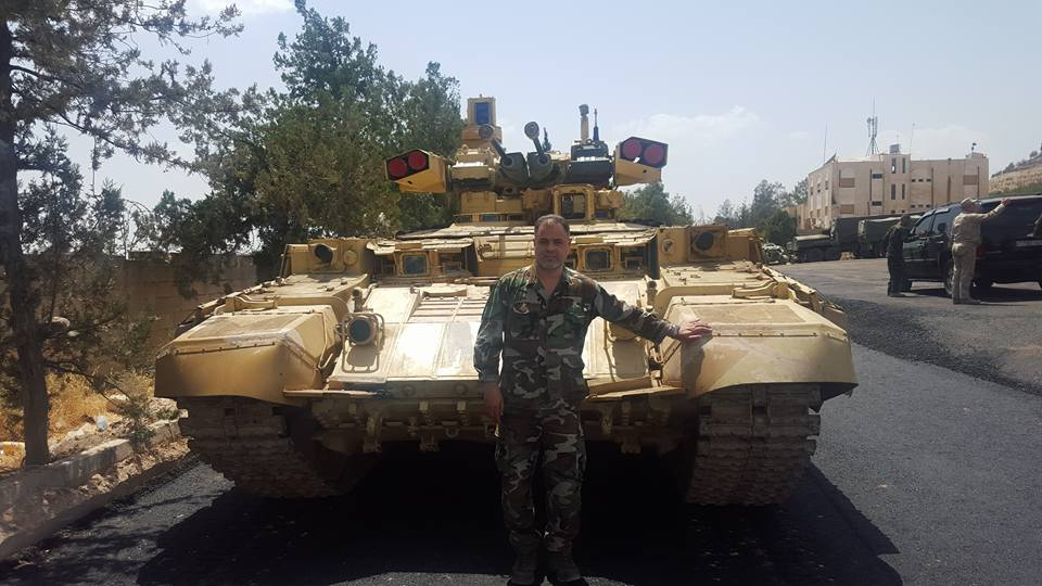 Syrian Army To Use Russian-made BMPT Terminator Combat Vehicles During Advance On Deir Ezzor - Reports