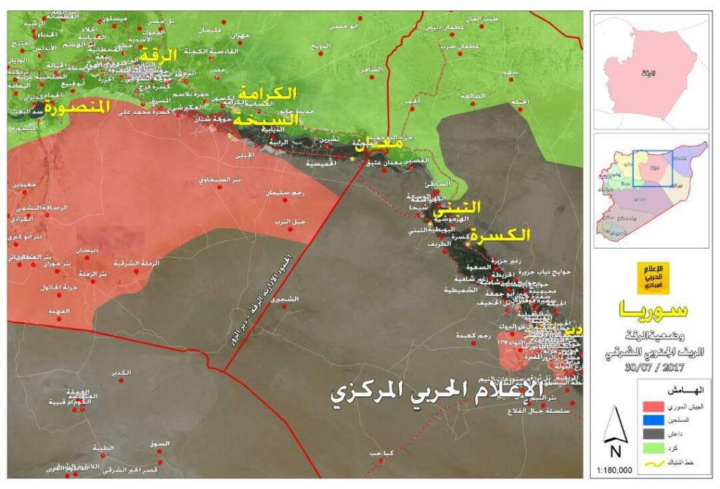 Defenders Of Deir Ezzor Launch Successful Counter-Attack Against ISIS. Army Further Pushes To Lift ISIS Siege From Strategic City
