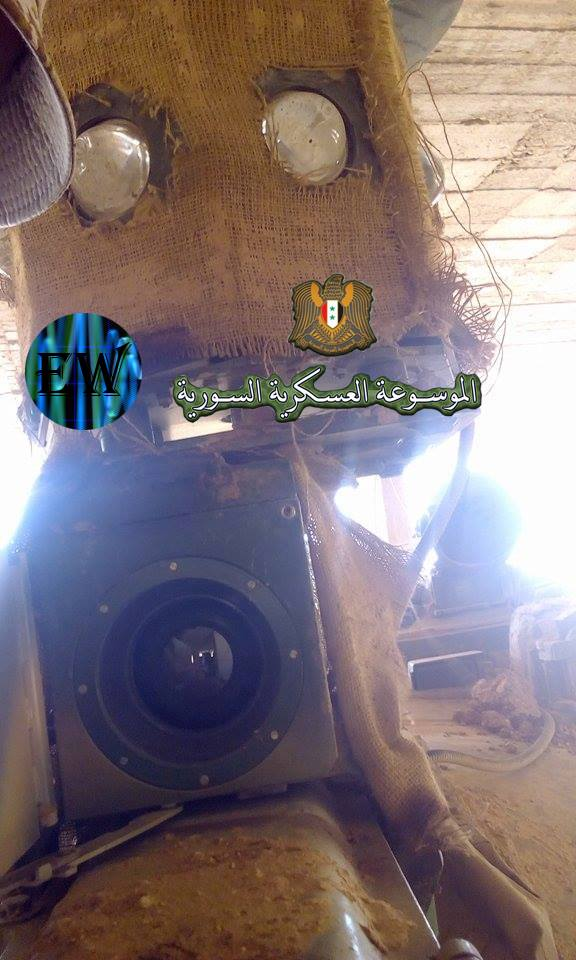 Syrian Army Upgrates T-55 Battle Tanks With Thermal Sights And Fire Control Systems