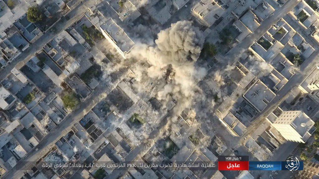 ISIS Recaptures Hisham Ibn Abd al-Malik District In Raqqa (Photos, Video)