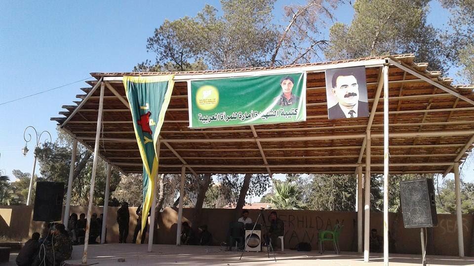SDF Creates First Female Arab Battalion To Fight ISIS (Photos)
