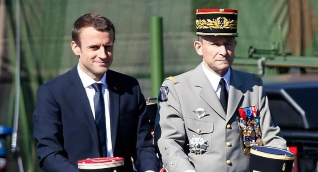 """I Won't Let Myself Be F***ed"": French Armed Forces Chief Resigns After Clashing With Macron"
