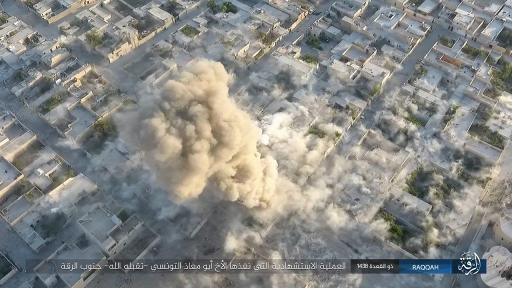US-backed SDF Captures 45% Of Raqqa City. SDF-linked Body Argues Syrian Army Prepares For Attack Against Raqqa (Photos)