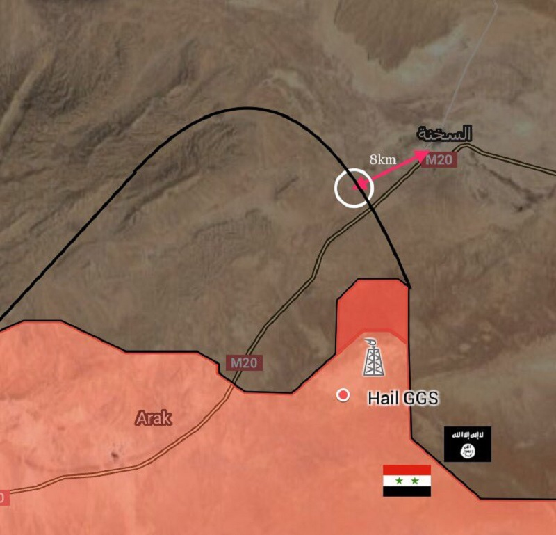 Syrian Army Liberates Important Hills, Establsihes Fire Control Over Strategic Sukhna Town (Map)
