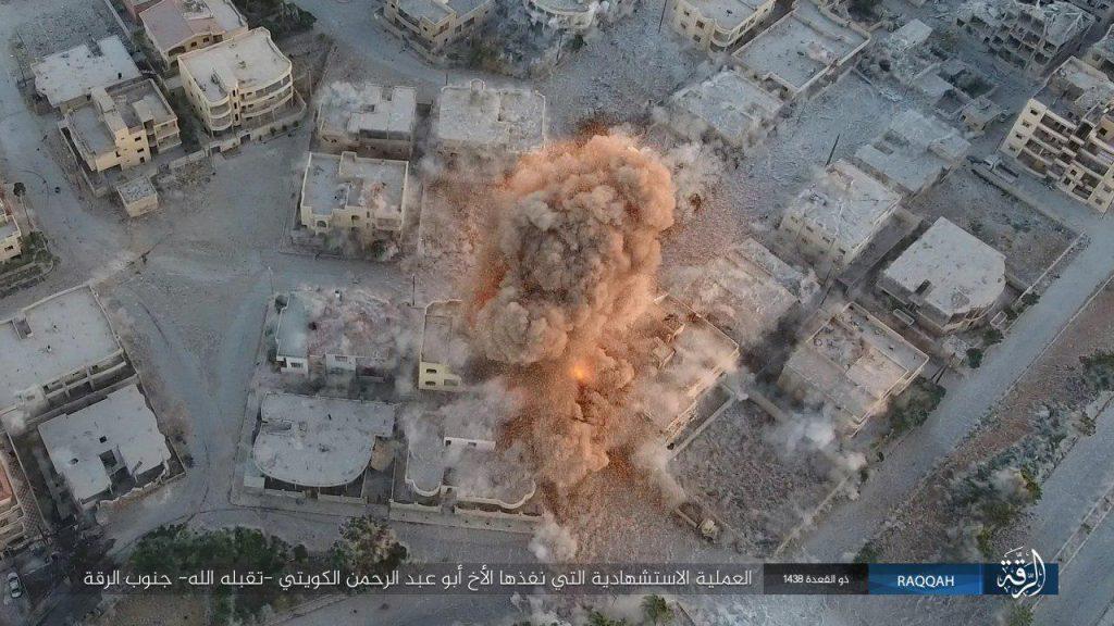 Syrian Democratic Forces Enter Al-Nahda District In Raqqa City. ISIS Counter-Attacks (Video, Photos)