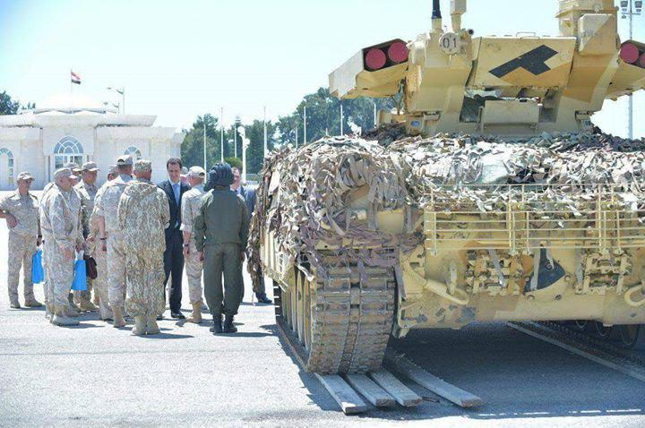 Will Syrian Army Receive BMPT Terminator?