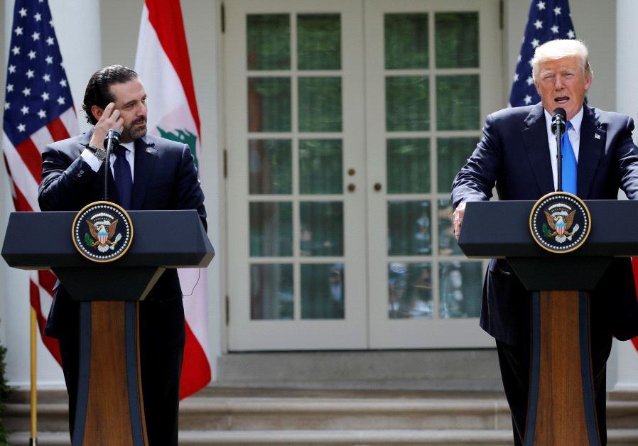 Trump: Lebanon On frontline Of fighting ISIS, Al-Qaeda And... Hezbollah