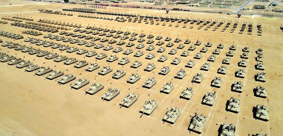 Egyptian Army Continues Large Anti-Terror Campaign in Northern Sinai. 30 Terrorists Killed