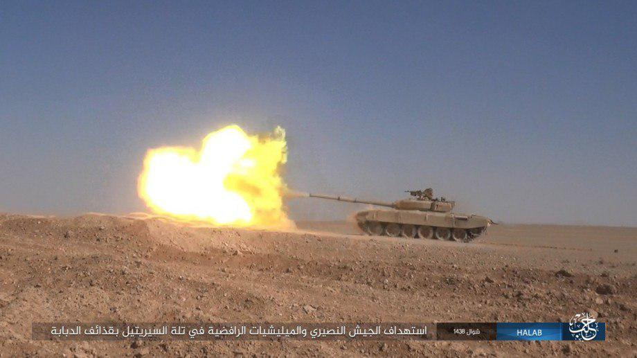 Syrian Army Storming ISIS Pocket East Of Khanasir