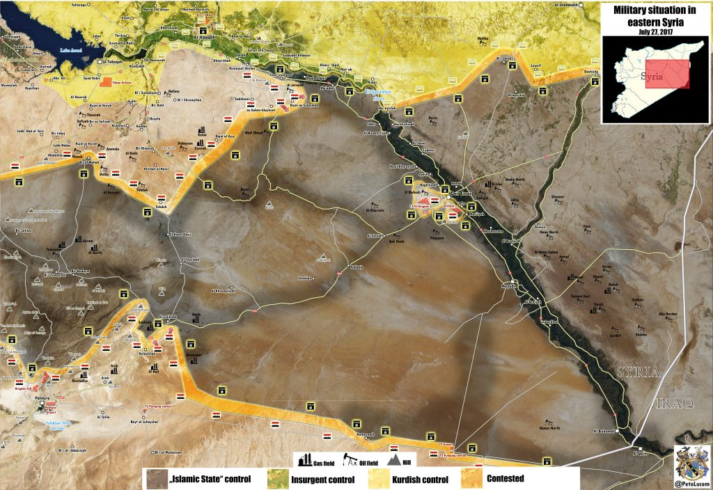 Government Troops Entered Sukhna Gas Field, Clashes Ongoing - Reports