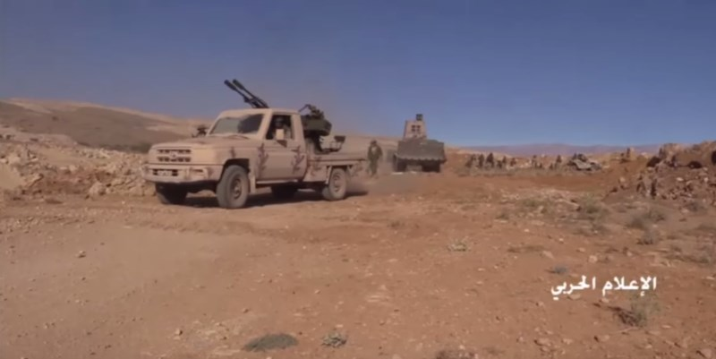 Hezbollah And Its Alies Advancing Against Terrorists At Syrian-Lebanese Border (Video, Map)