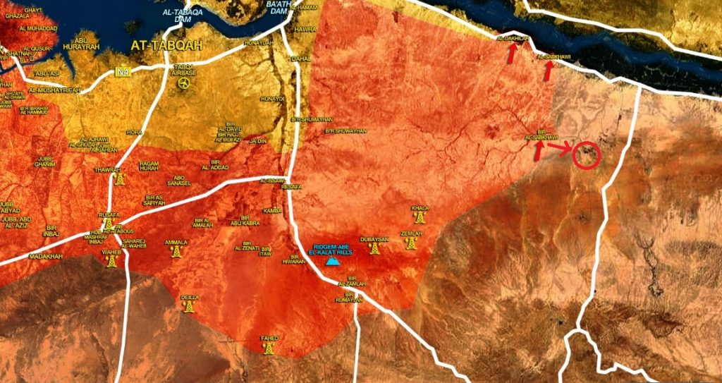 Tiger Forces Liberate Another Village South Of Euphrates River (Map)