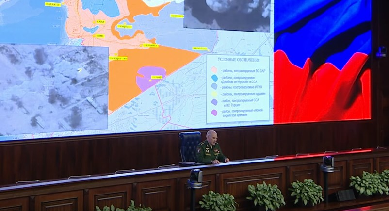 Russian Defense Ministry: Operation To Block And Destroy Large Group Of ISIS Terrorists At Uqayribat Ongoing Northwest Of Palmyra